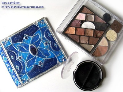 DIY Tutorial: Eyeshadow Palette From CD Jewel Case
